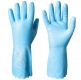 Anti-Allergic, Cotton Flock Lined Vinyl/PVC Chemical Resistant Gloves