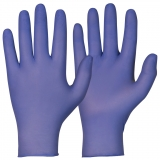 Soft Nitrile™, Powder Free, Accelerators Free, Indigo Colour Single-Use Gloves Magic Touch®
