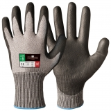 Mixed Fibres and Polyurethane Coating Cut Resistant Gloves Protector