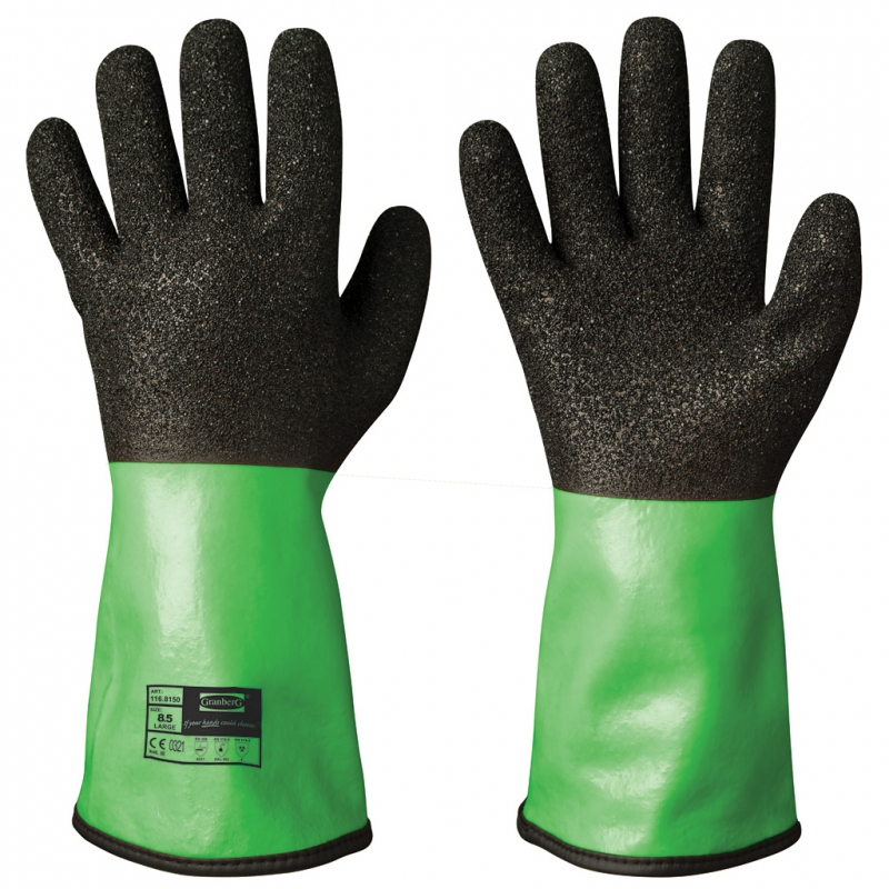 Cut and Chemical Resistant Vinyl/PVC Gloves | Granberg - Work and