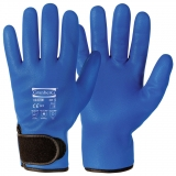 Full Nitrile Microfoam Coating, Fleece Liner Assembly Winter Gloves