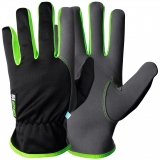 Assembly gloves EX®, MacroSkin Pro® with elastic polyester back, unlined