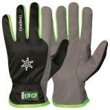 Assembly Winter gloves EX®,MacroSkin Pro® with elastic polyester back, winter lined