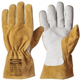 A Grade Cow Grain Leather, Fully Lined Work/Welders's Glove