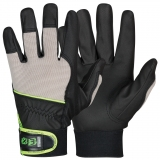 MicroSkin Shield® Material with Spandex® Back and Velcro Closure, Unlined Assembly Gloves EX®