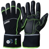 MicroSkin Shield® Material with ProTex® Membrane, Spandex® Back All-round Winter Gloves EX®
