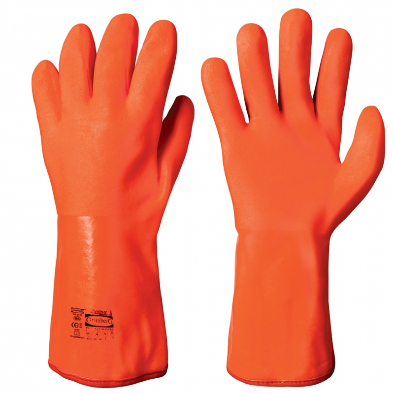 Vinyl Pvc Chemical Resistant Winter Gloves Chemstar
