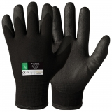 Special Vinyl/PVC Foam Coating Assembly Winter Gloves Black Diamond