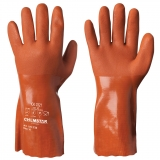 Cotton Interlock Lined Vinyl/PVC Chemical Resistant Gloves Chemstar