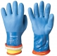 Removable Acrylic Flannel Liner Vinyl/PVC Chemical Resistant Winter Gloves Chemstar
