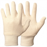 Knitted Wrist Cotton Gloves