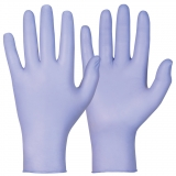 Soft Nitrile™, Powder Free, Indigo Colour Single-Use Gloves Magic Touch®