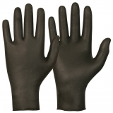 Soft Nitrile™, Powder Free, Black Colour Single-Use Gloves Magic Touch®