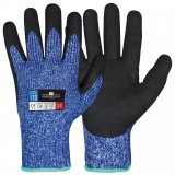 Typhoon® Fibre with Sandy Nitrile Coating Cut Resistant Winter Gloves Protector®