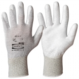 Polyurethane Coating ESD Gloves