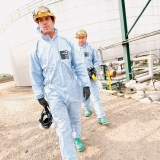 Type 5 and 6, Flame Resistant, Anti-Static and Barrier to Radioactive Particulates Flame-Retardant Protective Coverall Microgard® 2000FR