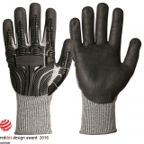 Cut 5 Gloves with Typhoon® and Impact Protection, Typhoon® fiber with nitrile foam coating