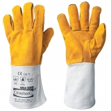 A Grade Cow Split Leather, Fully Lined Welders's Gloves