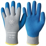 Latex Foam Coating Knitted Winter Gloves