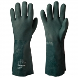 Double-Dipped, 40 cm, Jersey Liner Vinyl/PVC Chemical Resistant Gloves Chemstar