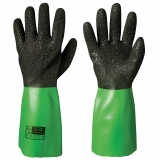Seamless Nylon Liner Vinyl/PVC Chemical Resistant Gloves