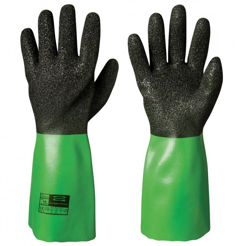 Vinyl Pvc Chemical Resistant Gloves Granberg Work And