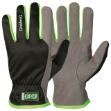 Assembly gloves EX®, MacroSkin Pro® with nylon back, unlined